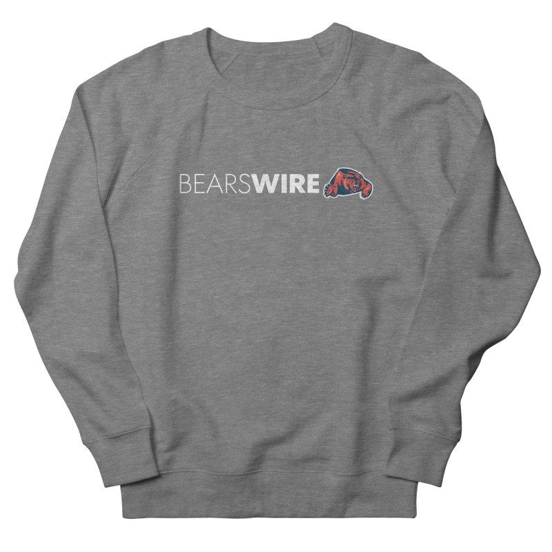 Bears Wire  Men's French Terry Sweatshirt by Sport'n Goods Artist Shop