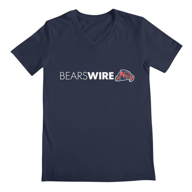Bears Wire  Men's V-Neck by Sport'n Goods Artist Shop