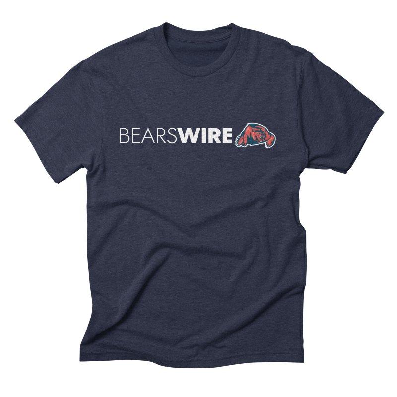 Bears Wire  Men's Triblend T-shirt by Sport'n Goods Artist Shop