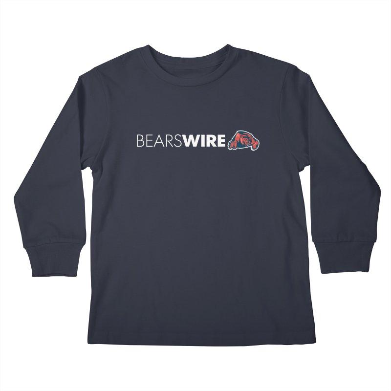 Bears Wire  Kids Longsleeve T-Shirt by Sport'n Goods Artist Shop