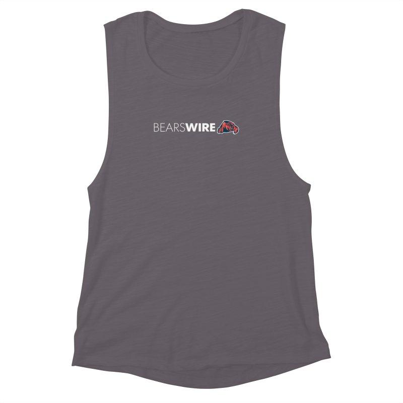 Bears Wire  Women's Muscle Tank by Sport'n Goods Artist Shop