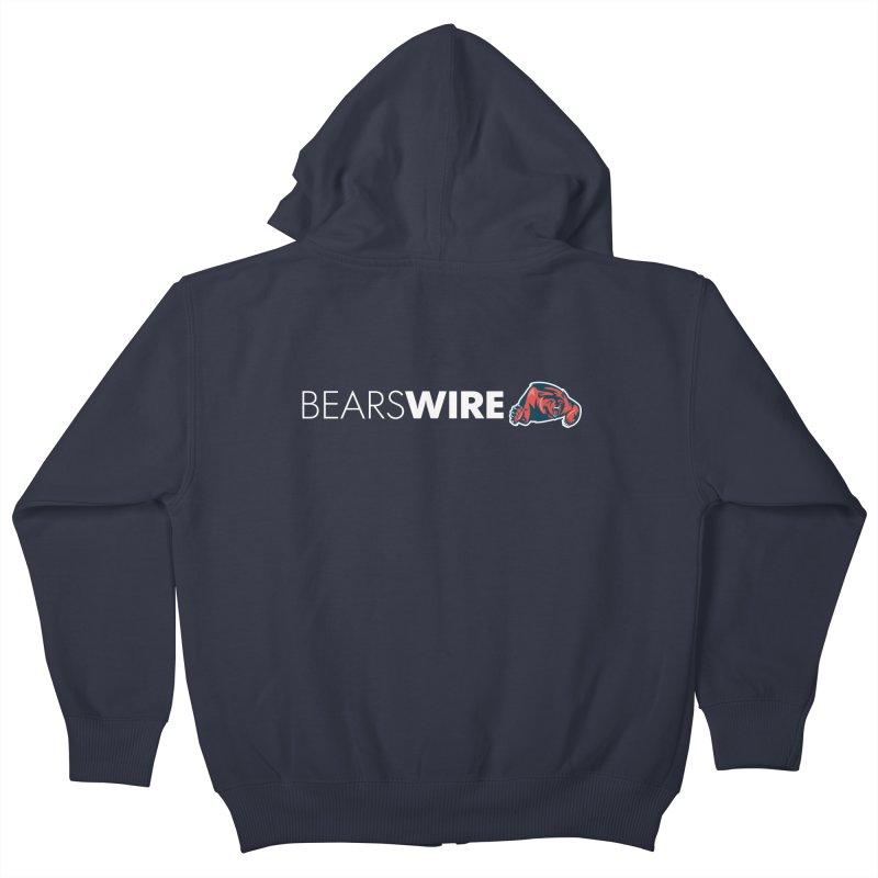 Bears Wire  Kids Zip-Up Hoody by Sport'n Goods Artist Shop