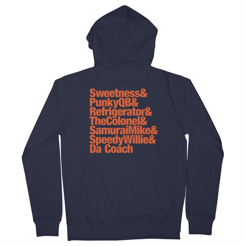 '85 Bears Nicknames Men's French Terry Zip-Up Hoody by Sport'n Goods Artist Shop