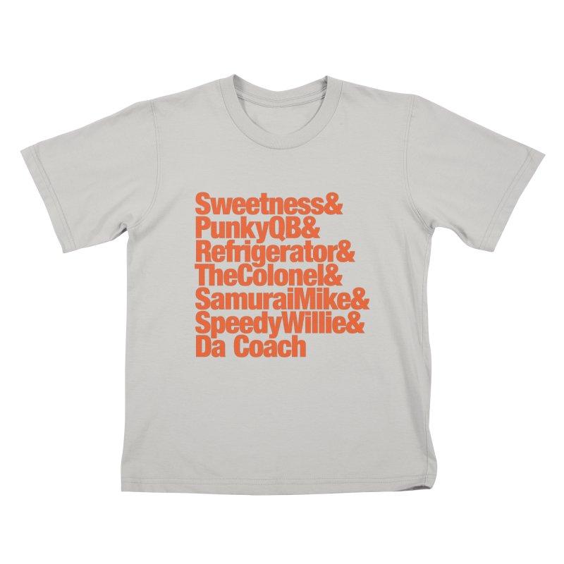 '85 Bears Nicknames Kids T-shirt by Sport'n Goods Artist Shop