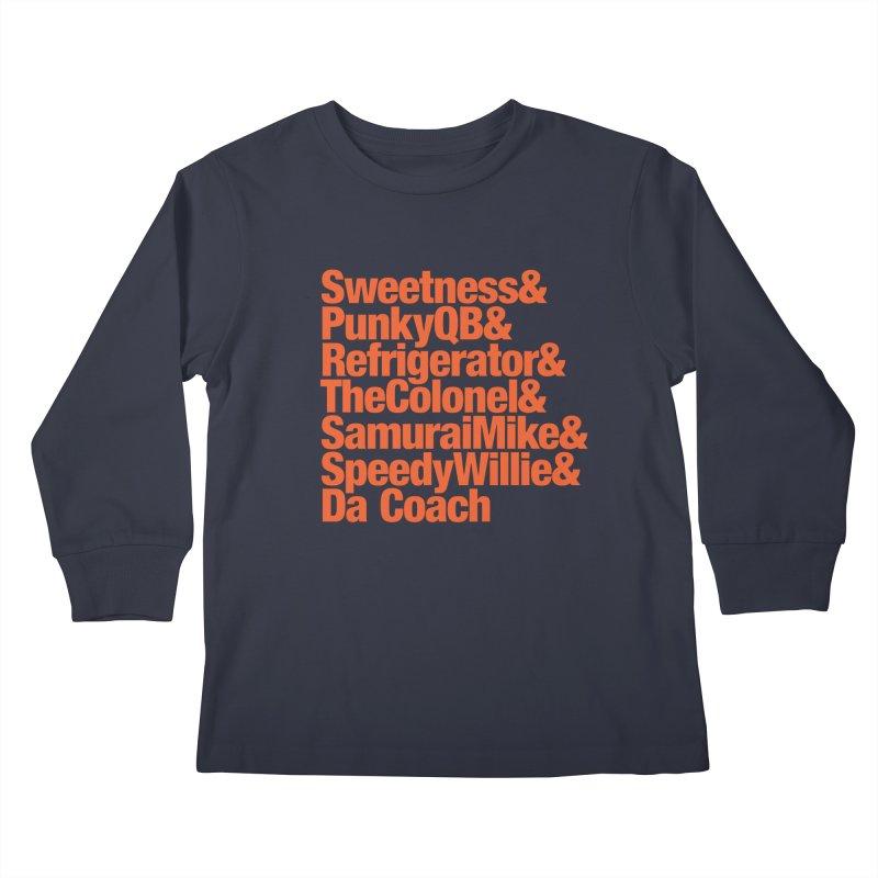 '85 Bears Nicknames Kids Longsleeve T-Shirt by Sport'n Goods Artist Shop