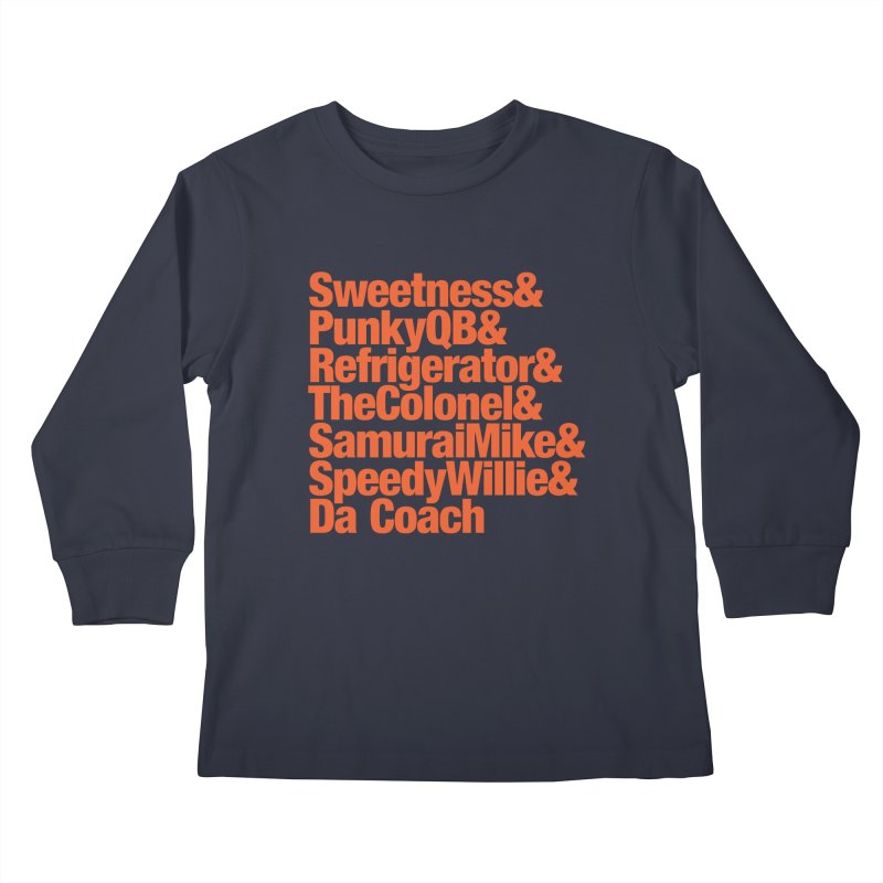 '85 Bears Nicknames Kids Longsleeve T-Shirt by Sport'n Goods Artist Shop