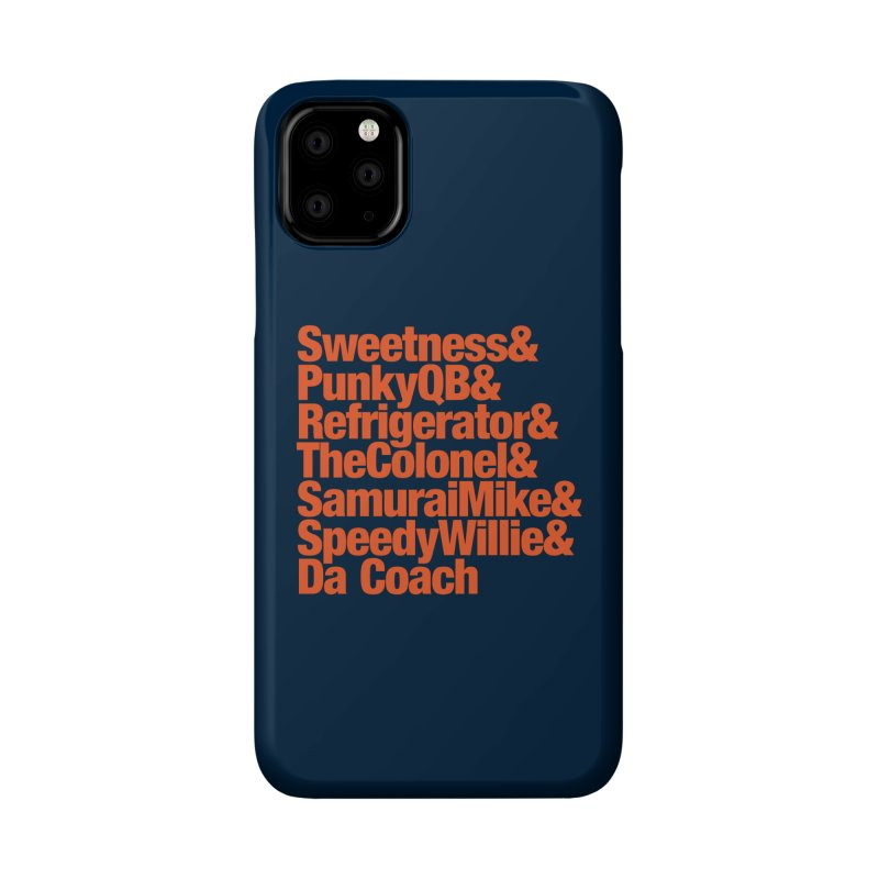 '85 Bears Nicknames Accessories Phone Case by Sport'n Goods Artist Shop