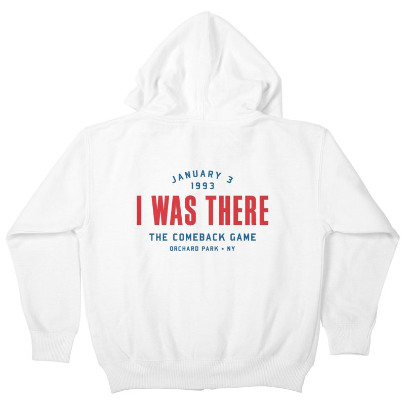 I Was There Kids Zip-Up Hoody by Sport'n Goods Artist Shop