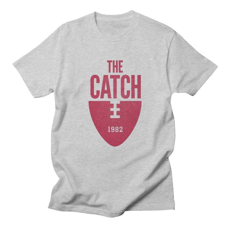 The Catch in Men's Regular T-Shirt Heather Grey by Sport'n Goods Artist Shop