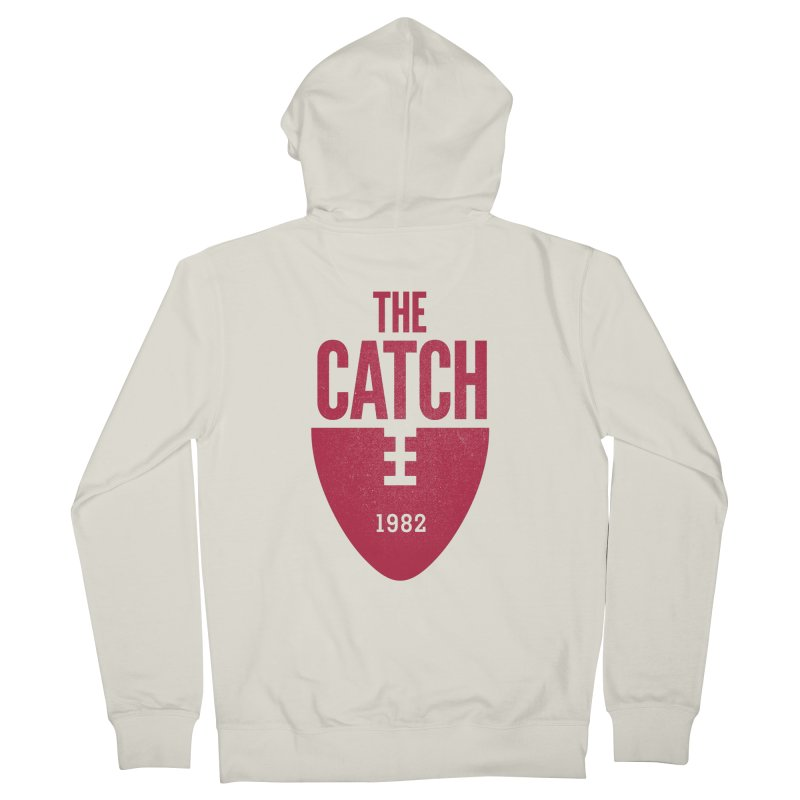 The Catch Men's French Terry Zip-Up Hoody by Sport'n Goods Artist Shop