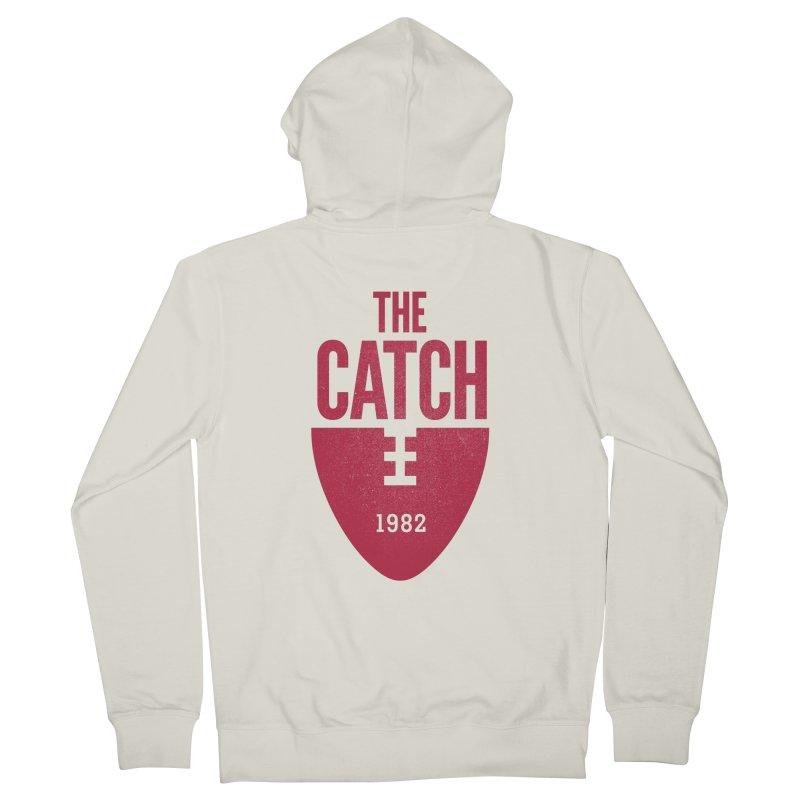 The Catch Men's Zip-Up Hoody by Sport'n Goods Artist Shop