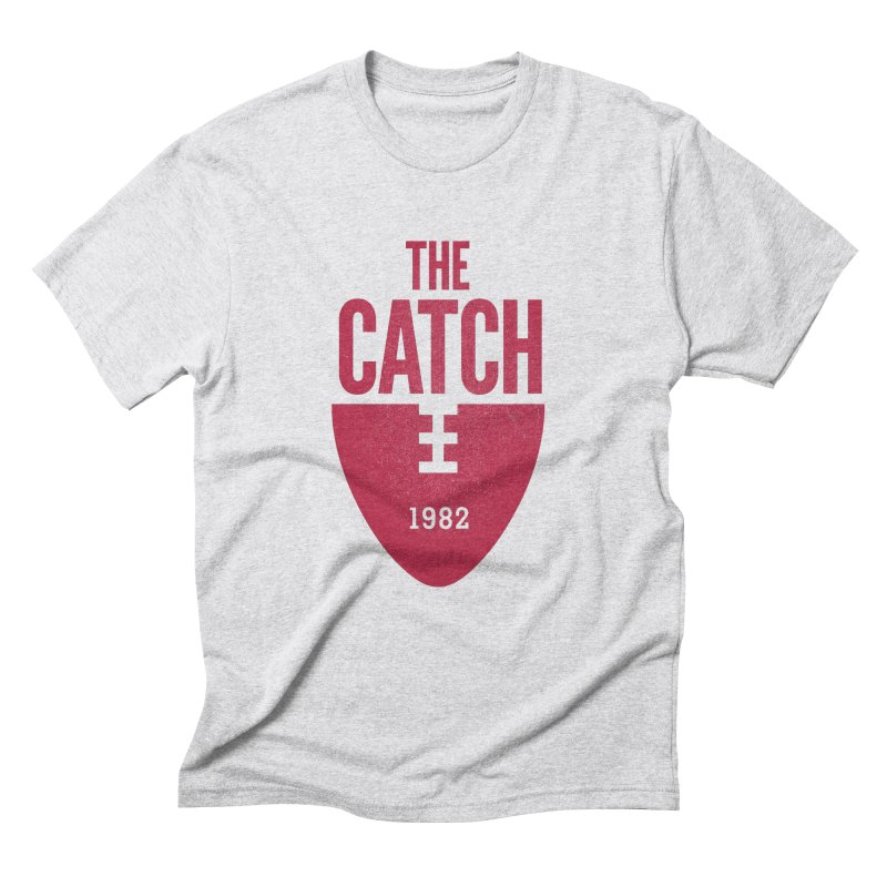 The Catch in Men's Triblend T-shirt Heather White by Sport'n Goods Artist Shop