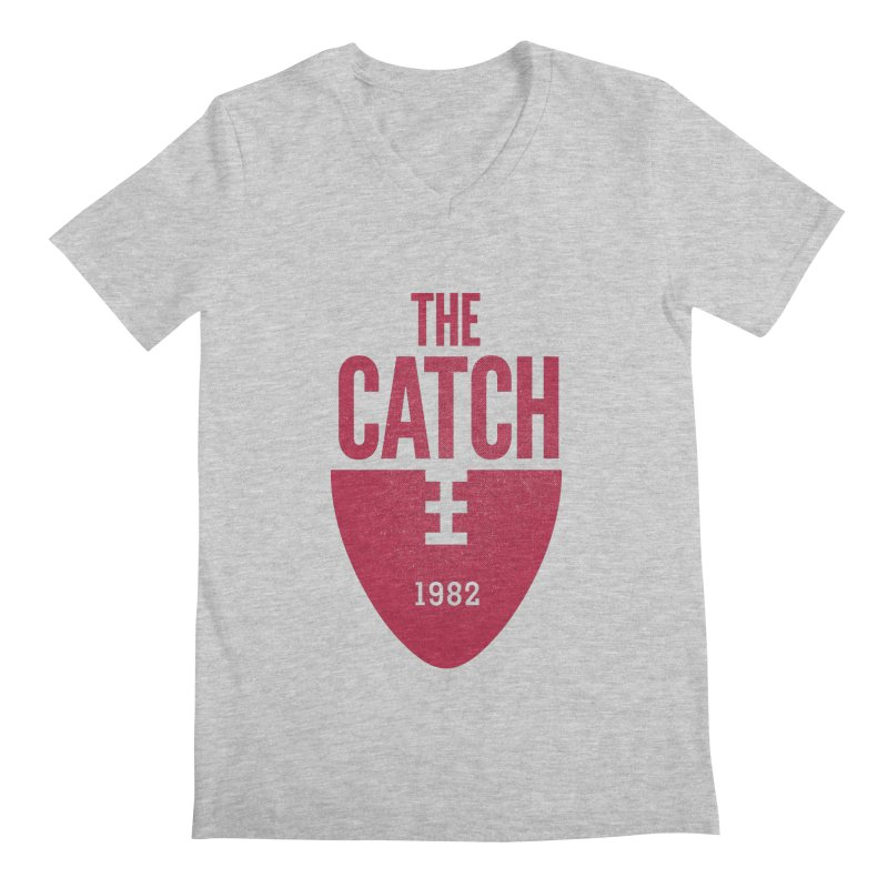 The Catch Men's V-Neck by Sport'n Goods Artist Shop
