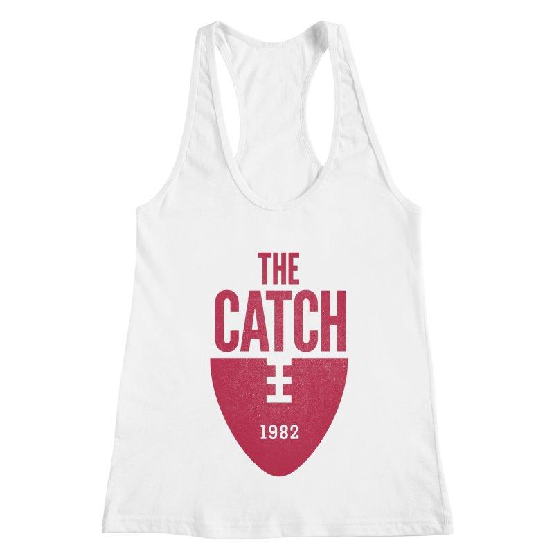 The Catch Women's Racerback Tank by Sport'n Goods Artist Shop