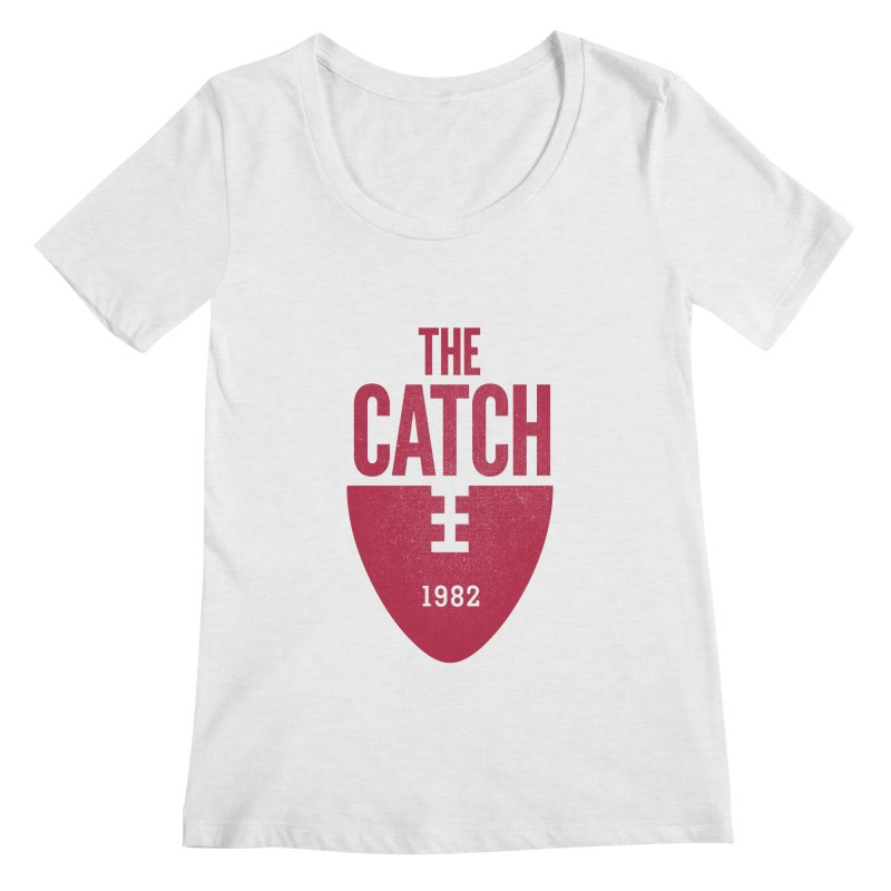 The Catch Women's Scoopneck by Sport'n Goods Artist Shop