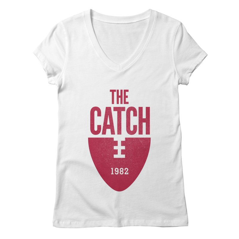 The Catch Women's V-Neck by Sport'n Goods Artist Shop