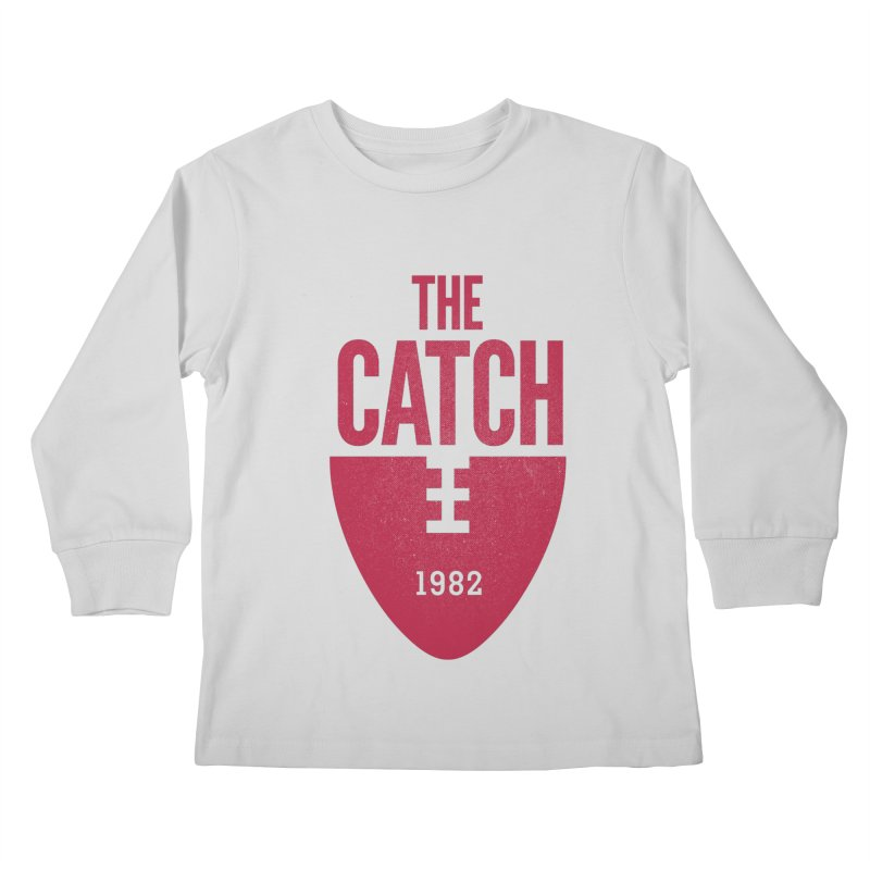 The Catch Kids Longsleeve T-Shirt by Sport'n Goods Artist Shop