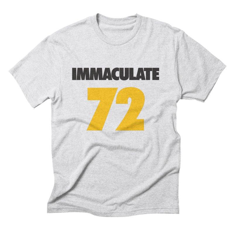 Immaculate 72 Men's Triblend T-shirt by Sport'n Goods Artist Shop