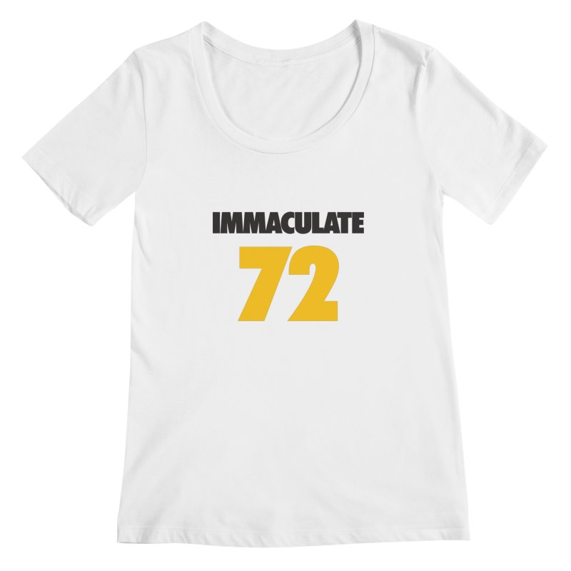 Immaculate 72 Women's Scoopneck by Sport'n Goods Artist Shop