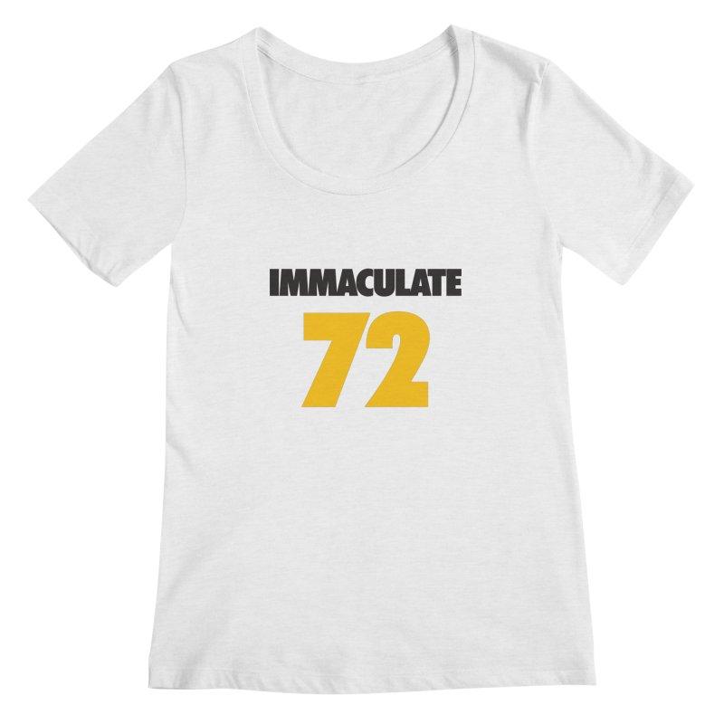 Immaculate 72 Women's Regular Scoop Neck by Sport'n Goods Artist Shop