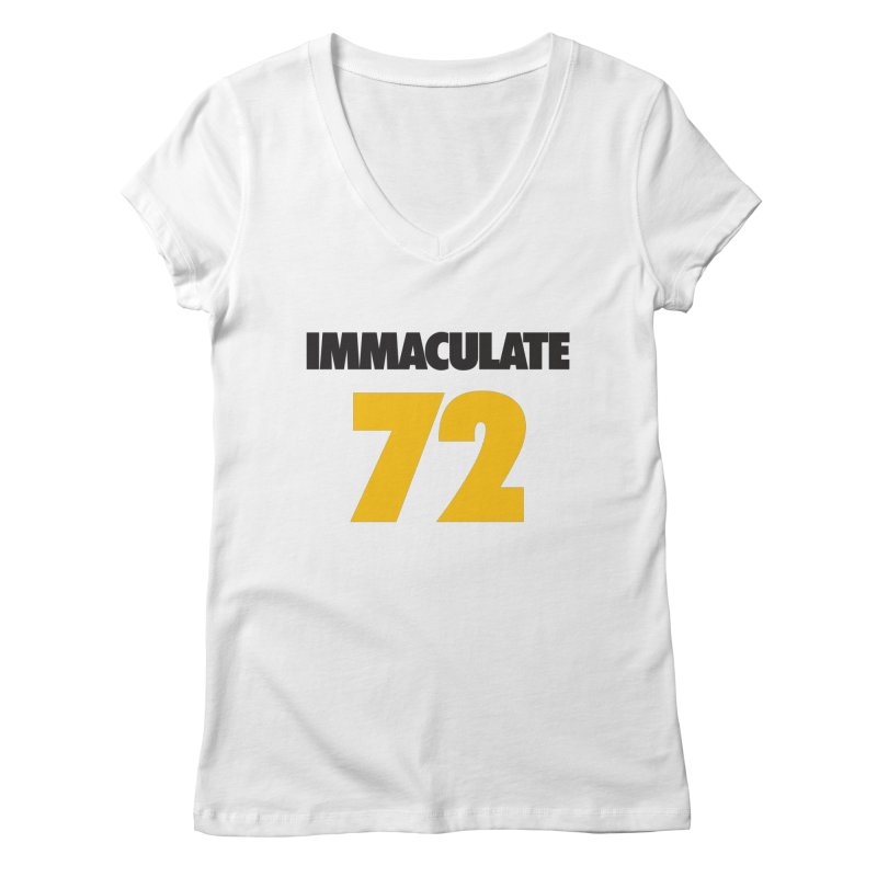 Immaculate 72 Women's V-Neck by Sport'n Goods Artist Shop