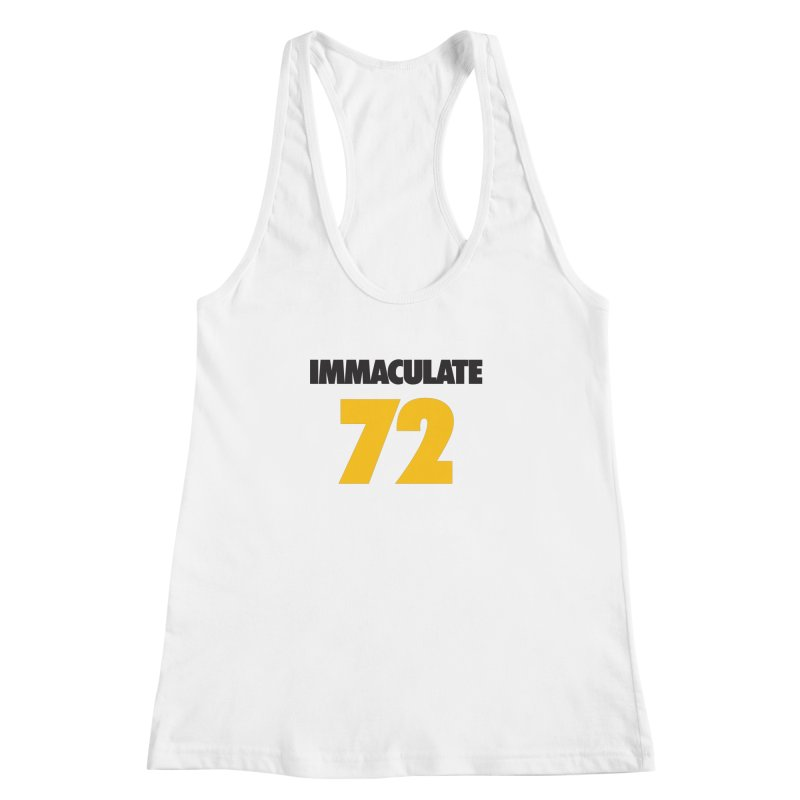 Immaculate 72 Women's Racerback Tank by Sport'n Goods Artist Shop