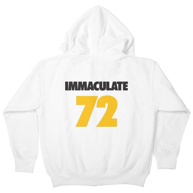 Immaculate 72 Kids Zip-Up Hoody by Sport'n Goods Artist Shop