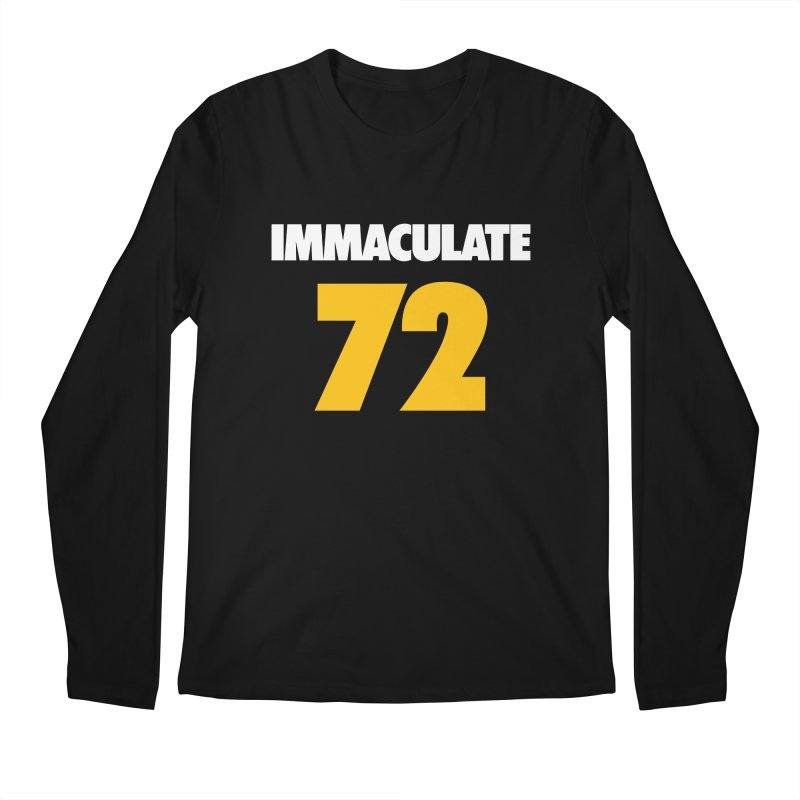 Immaculate 72 Black in Men's Longsleeve T-Shirt Black by Sport'n Goods Artist Shop