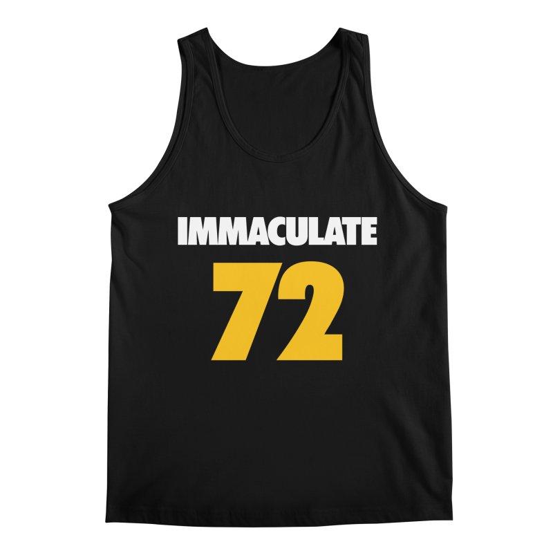 Immaculate 72 Black Men's Regular Tank by Sport'n Goods Artist Shop