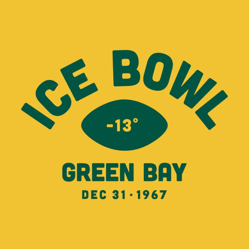 Ice Bowl Men's T-Shirt by Sport'n Goods Artist Shop