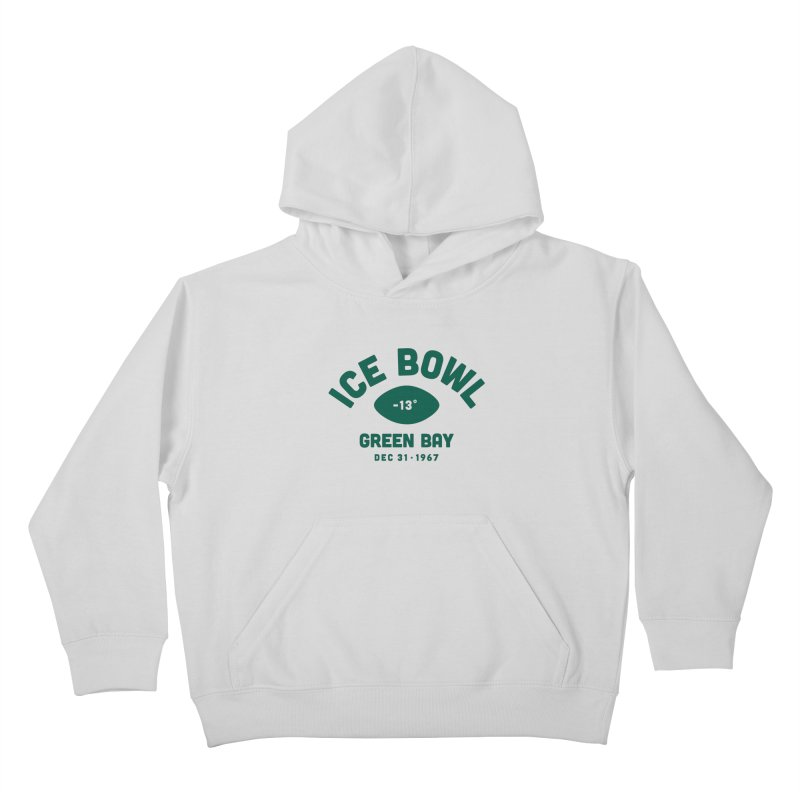 Ice Bowl Kids Pullover Hoody by Sport'n Goods Artist Shop