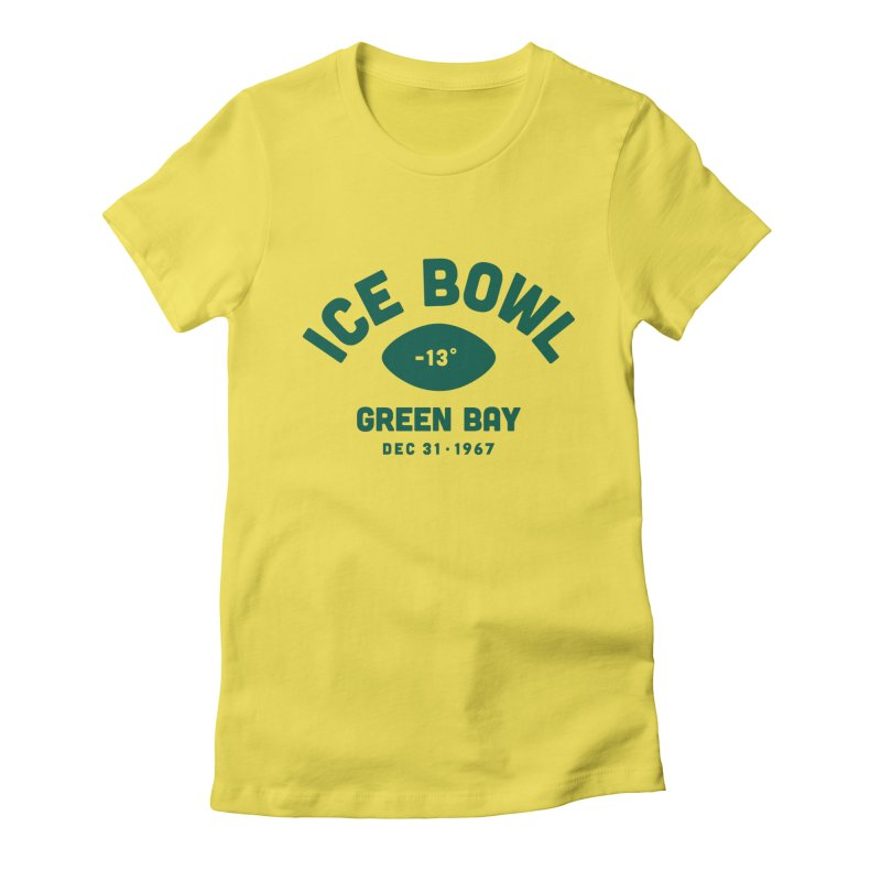 Ice Bowl Women's T-Shirt by Sport'n Goods Artist Shop