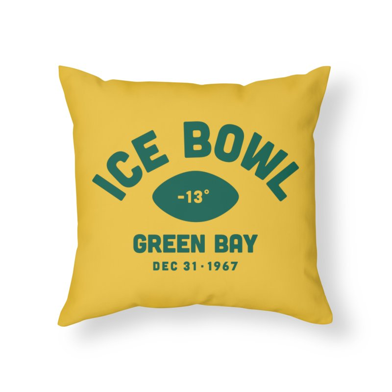 Ice Bowl Home Throw Pillow by Sport'n Goods Artist Shop