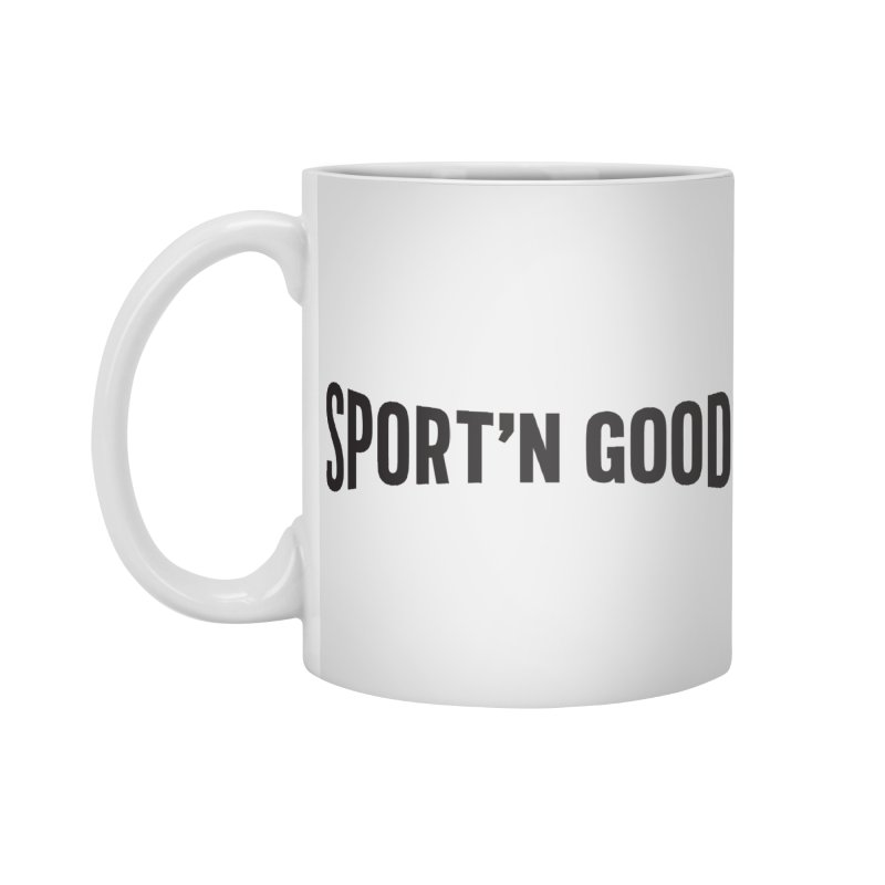 Sport'n Goods logo Accessories Mug by Sport'n Goods Artist Shop