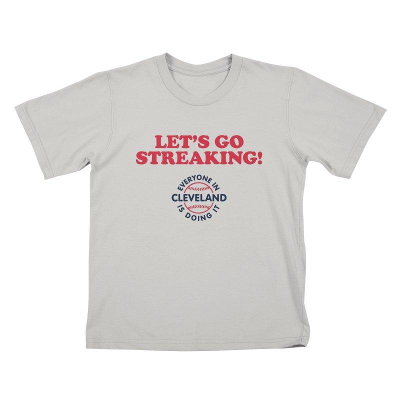 Let's Go Streaking! Kids T-shirt by Sport'n Goods Artist Shop