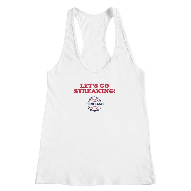 Let's Go Streaking! Women's Racerback Tank by Sport'n Goods Artist Shop