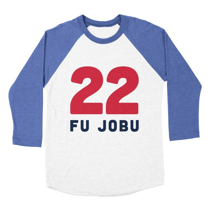 FU JOBU Men's Baseball Triblend T-Shirt by Sport'n Goods Artist Shop