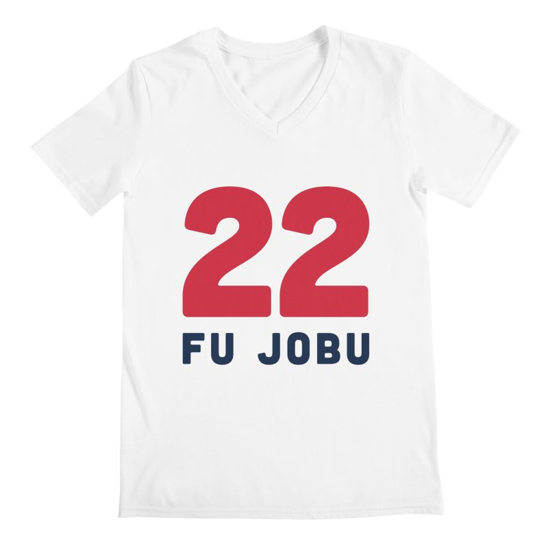 FU JOBU Men's V-Neck by Sport'n Goods Artist Shop