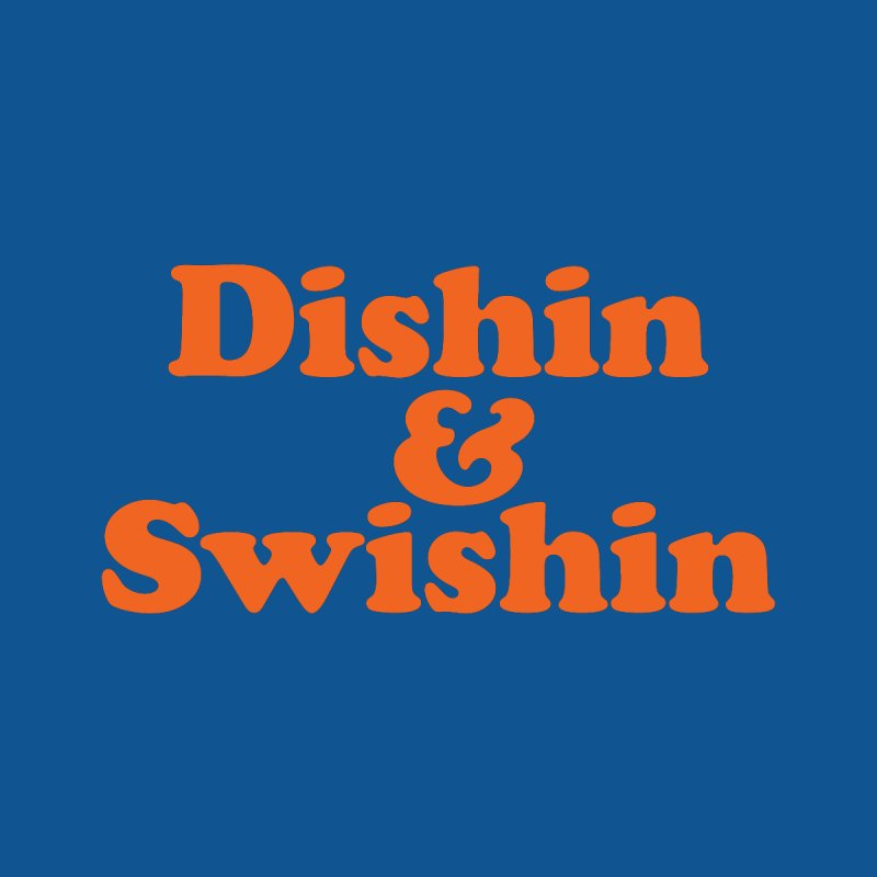 Dishin & Swishin Men's T-Shirt by Sport'n Goods Artist Shop