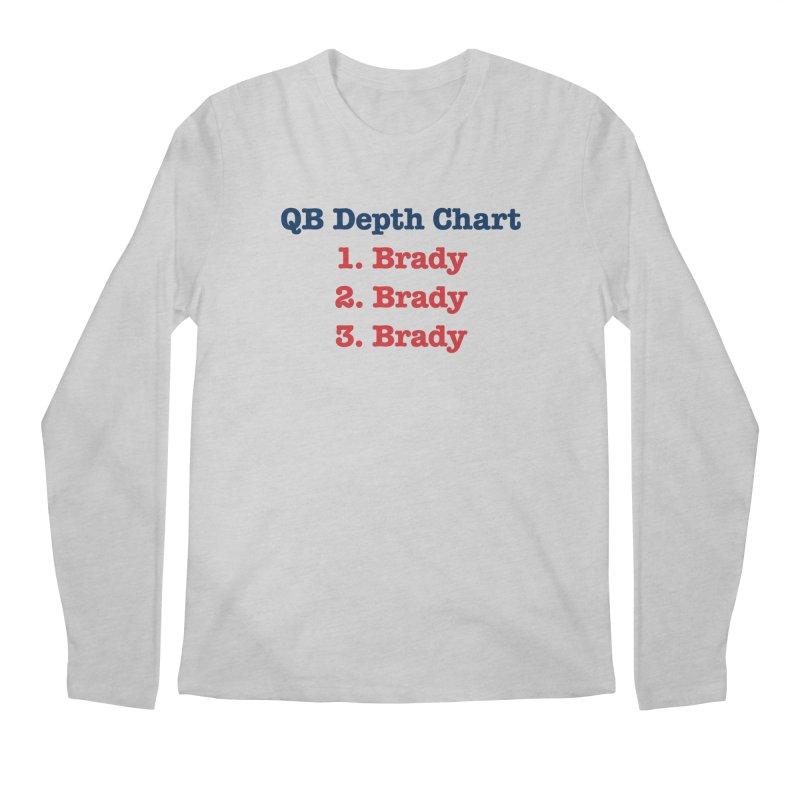 QB Depth Chart Men's Longsleeve T-Shirt by Sport'n Goods Artist Shop
