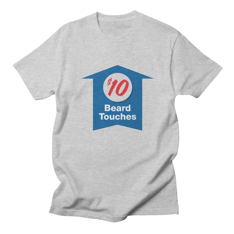 $10 Beard Touches Men's T-shirt by Sport'n Goods Artist Shop