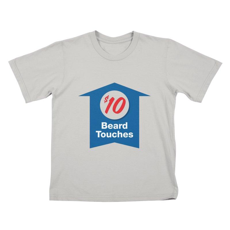 $10 Beard Touches Kids T-shirt by Sport'n Goods Artist Shop