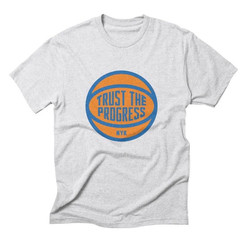 Trust The Progress Men's T-Shirt by Sport'n Goods Artist Shop
