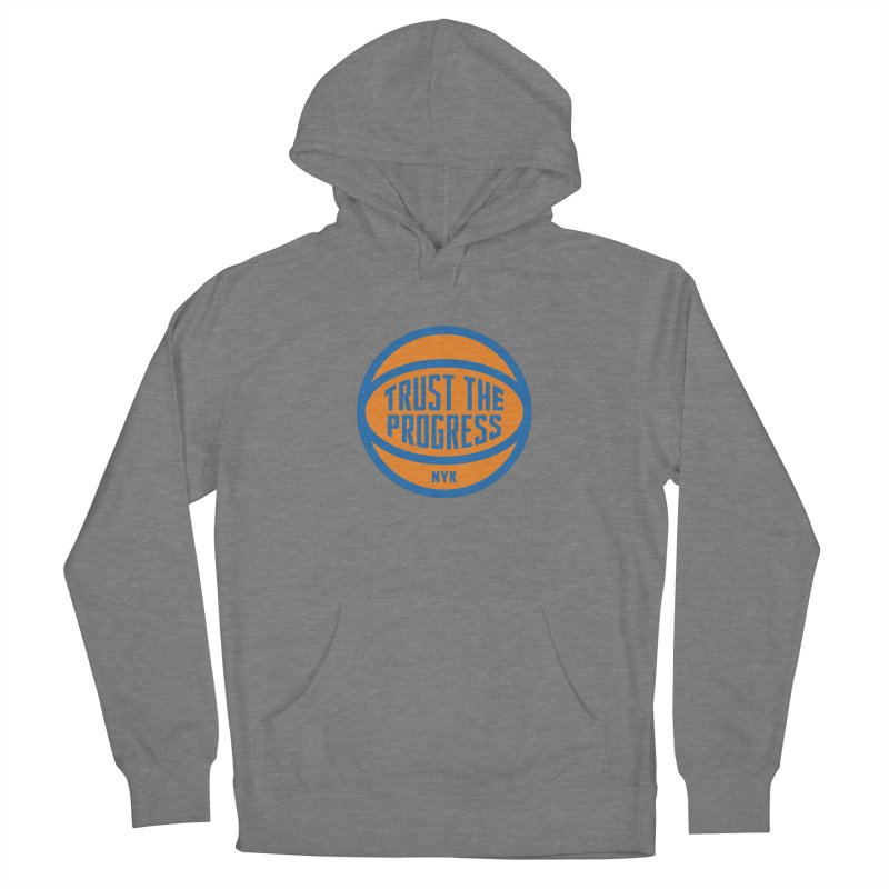 Trust The Progress Women's French Terry Pullover Hoody by Sport'n Goods Artist Shop