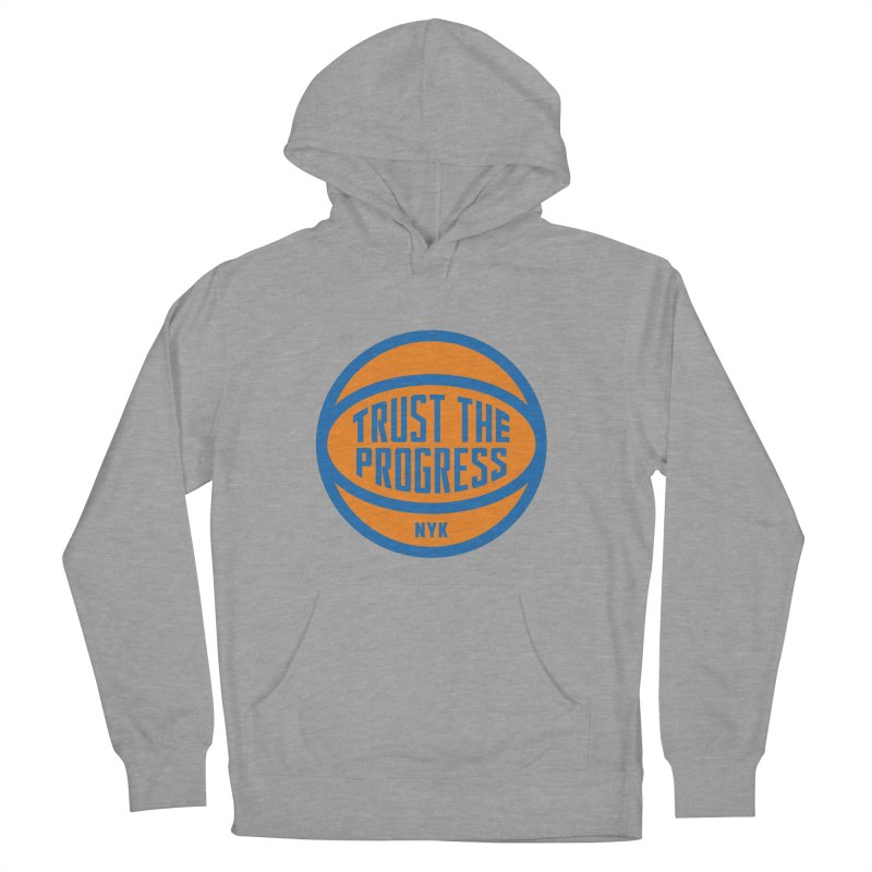 Trust The Progress Men's Pullover Hoody by Sport'n Goods Artist Shop