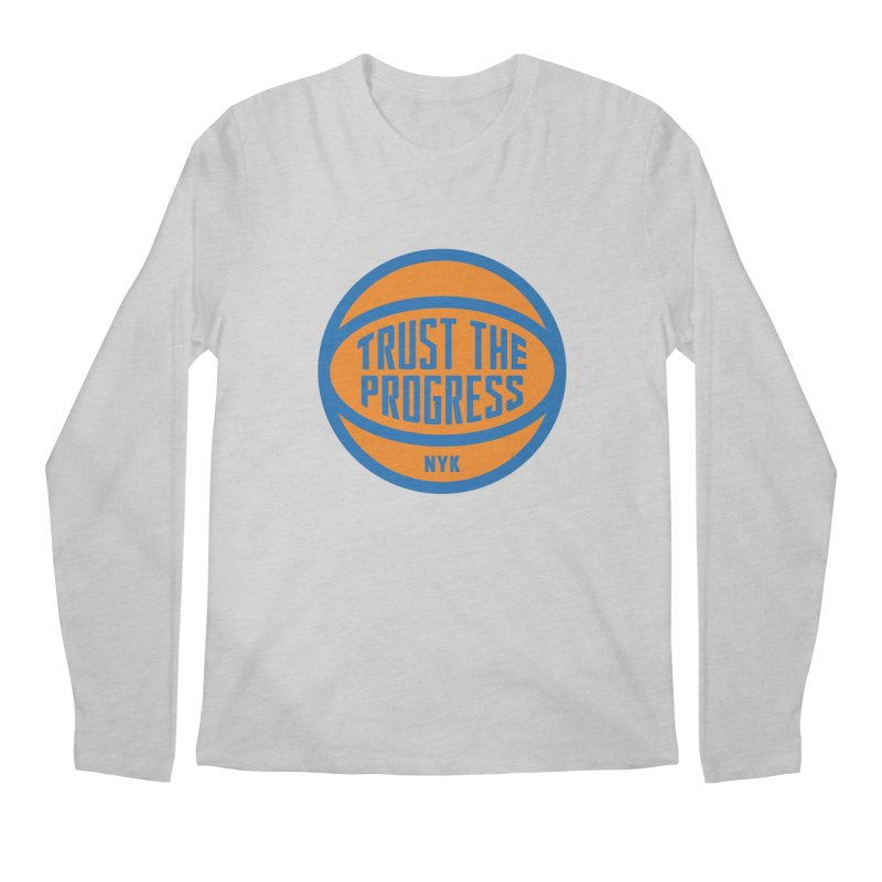 Trust The Progress Men's Longsleeve T-Shirt by Sport'n Goods Artist Shop