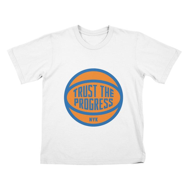 Trust The Progress Kids T-Shirt by Sport'n Goods Artist Shop