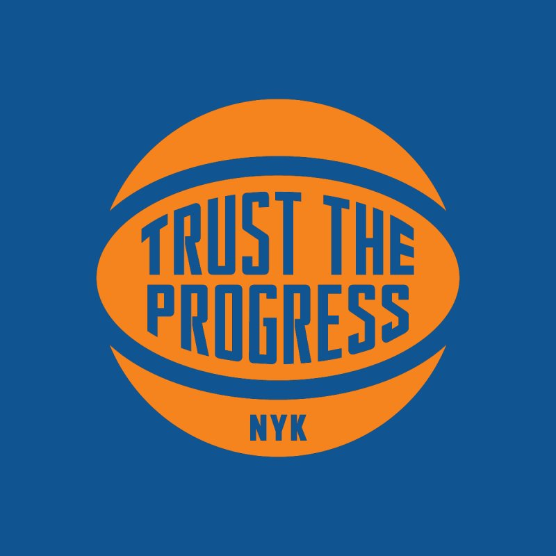 Trust The Progress - Blue Men's T-Shirt by Sport'n Goods Artist Shop