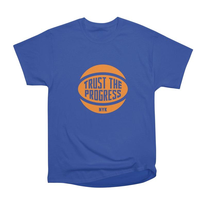 Trust The Progress - Blue Women's Classic Unisex T-Shirt by Sport'n Goods Artist Shop