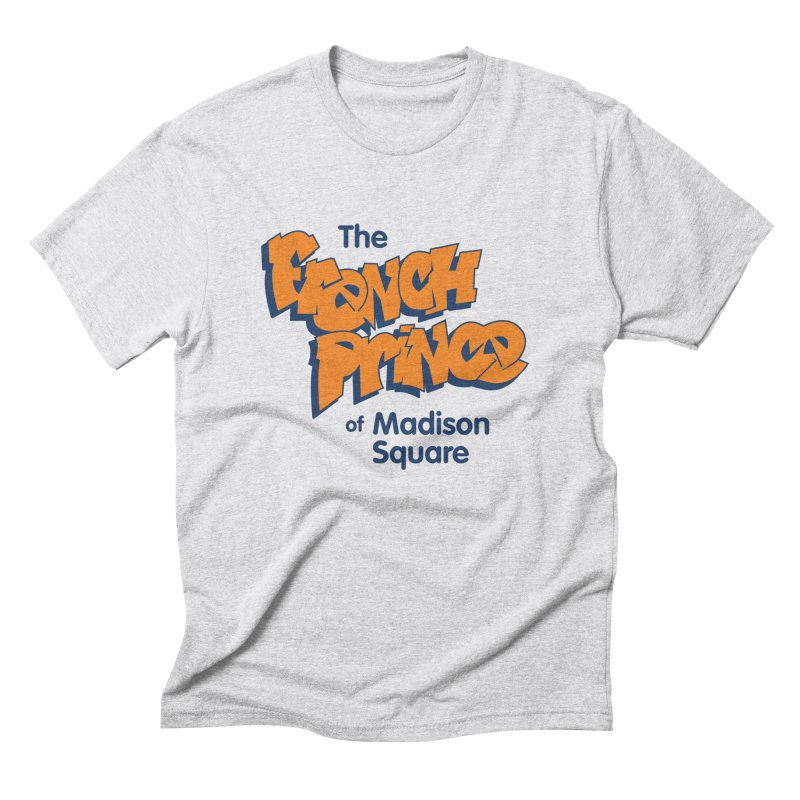 The French Prince of Madison Square Men's Triblend T-shirt by Sport'n Goods Artist Shop